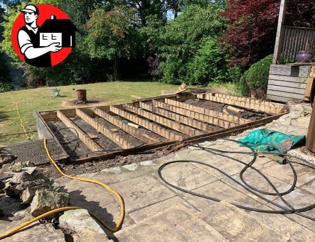 Deck Removal in Mandeville
